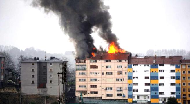 incendio viviendas Sestao