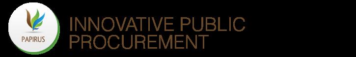 novative public procurement